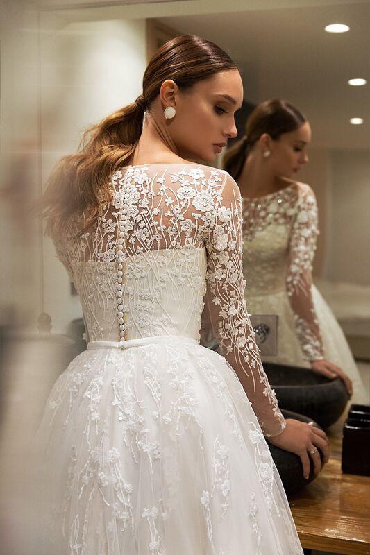 """Свадебное платье напрокат ALIZA свадебное платье """"Roksanny"""" - фото 2"""