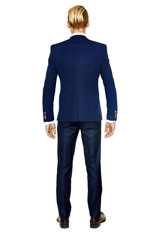 Пиджак, жакет, жилетка мужские HISTORIA Пиджак мужской синий H07 - фото 2