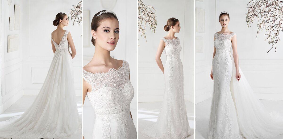 Свадебное платье напрокат Fara Sposa Платье свадебное 5203 - фото 2