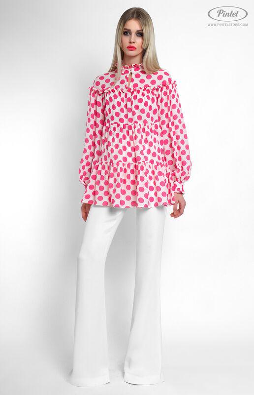 Костюм женский Pintel™ Комбинированный брючный костюм Fleurina - фото 1
