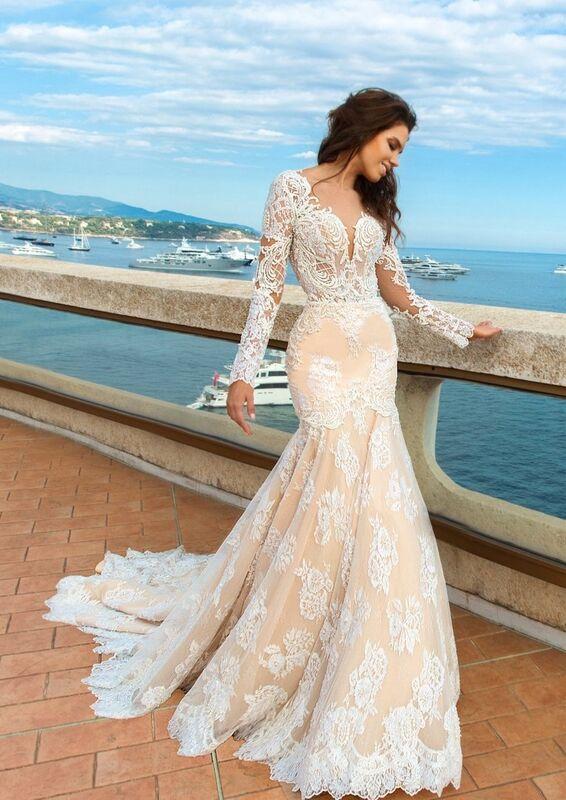 Свадебное платье напрокат Crystal Свадебное платье Rian - фото 1