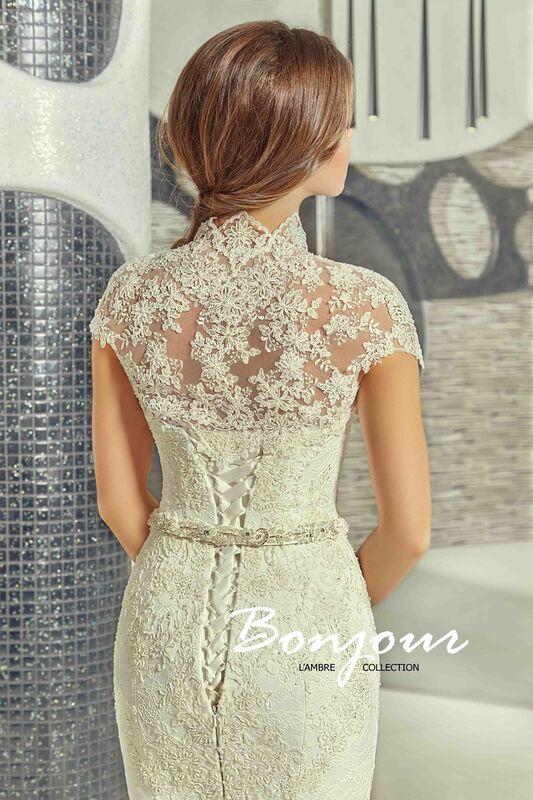 Свадебное платье напрокат Bonjour Платье свадебное «Olivia» из коллекции LAMBRE 2017 - фото 7