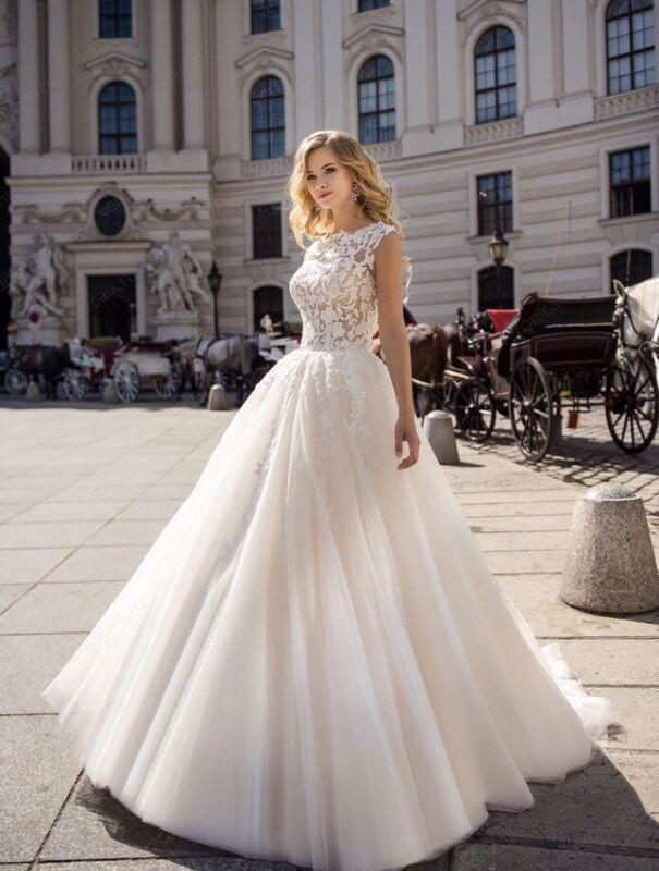 """Свадебное платье напрокат ALIZA свадебное платье """"Dina"""" - фото 1"""