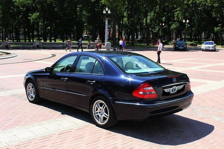 Аренда авто Mercedes-Benz W211 - фото 3