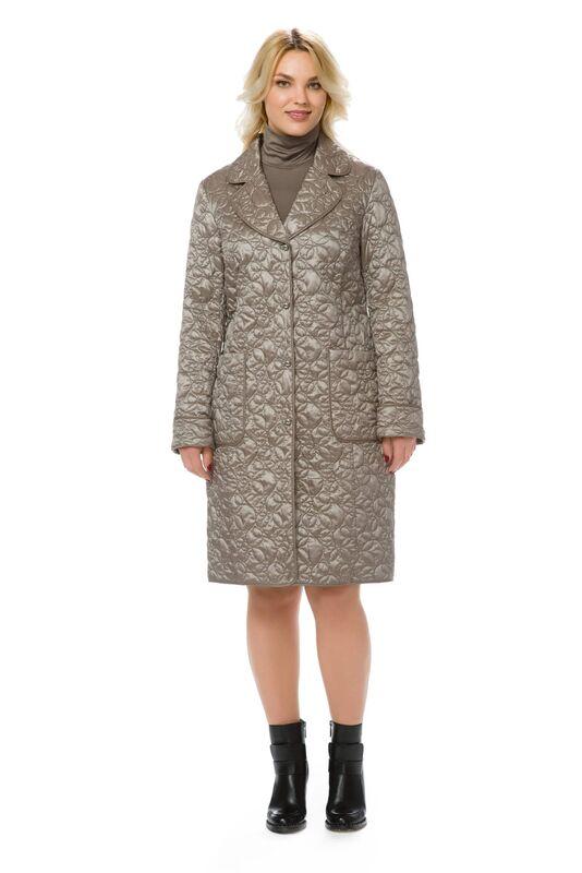 Верхняя одежда женская Elema Пальто женское плащевое утепленное Т-7098 - фото 1