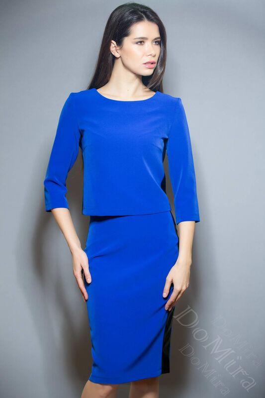 Кофта, блузка, футболка женская DoMira Блуза М-03-44 - фото 4