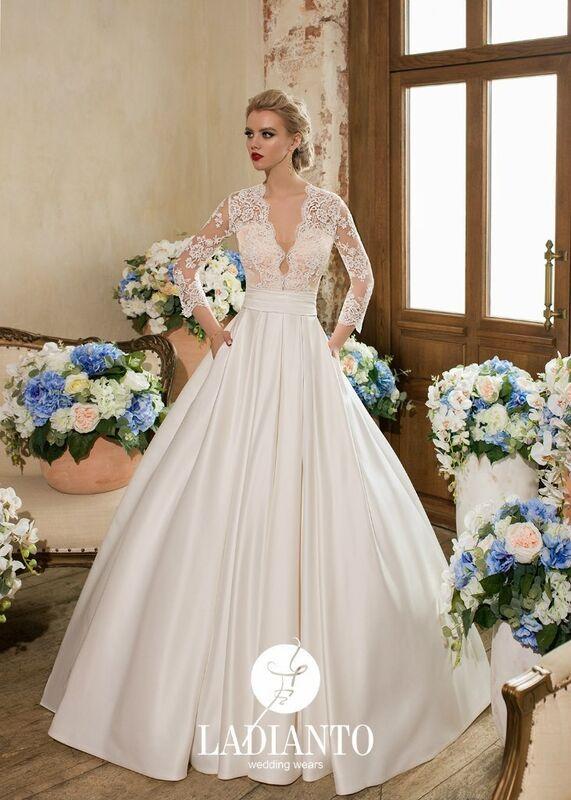 Свадебное платье напрокат Ladianto Платье свадебное Alberica D-7120 Abelarda - фото 1