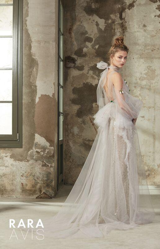 Свадебное платье напрокат Rara Avis Платье свадебное Floral Paradise  Riki - фото 2