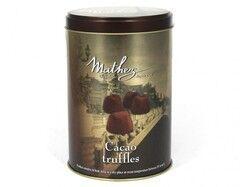 Подарок на Новый год Chocolat Mathez Конфеты французские трюфели «Or Paris» в банке, 500 г - фото 1