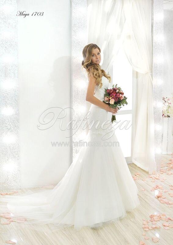Свадебное платье напрокат Rafineza Свадебное платье Maya - фото 1