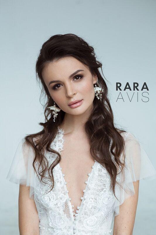 Свадебный аксессуар Rara Avis Серьги №1 - фото 2
