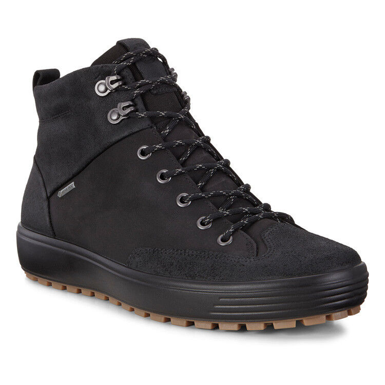 Обувь мужская ECCO Кеды высокие SOFT 7 TRED 450114/51052 - фото 1