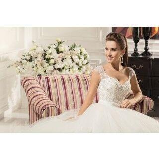 Свадебное платье напрокат Nora Naviano Платье свадебное Alisha - фото 3