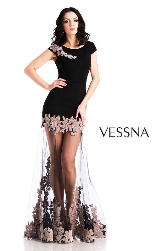 Вечернее платье Vessna Вечернее платье арт.1273 из коллекции VESSNA NEW - фото 1