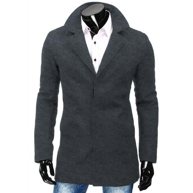 Верхняя одежда мужская Revolt Пальто Leo (Серое) - фото 1