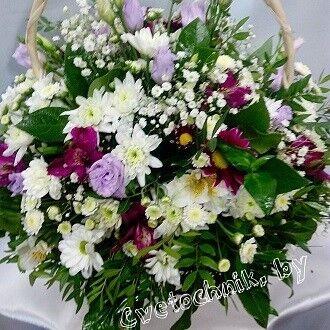 Магазин цветов Цветочник Корзина «Радость» - фото 1