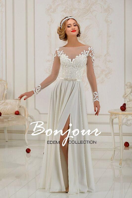 Свадебное платье напрокат Bonjour Платье свадебное «Carmella» из коллекции EDEM L'ECLAT 2016 - фото 1