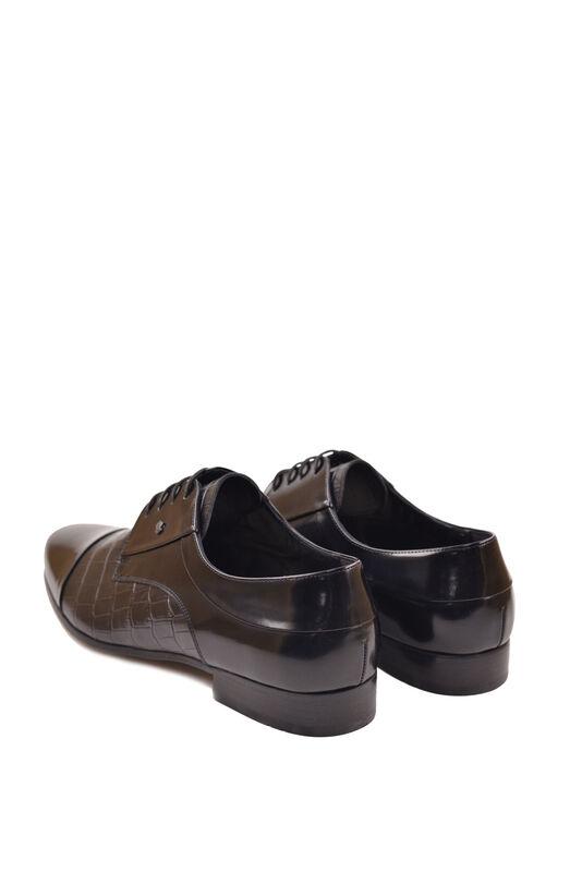 Обувь мужская HISTORIA Туфли дерби черные глянец Sh.B.73127 - фото 2