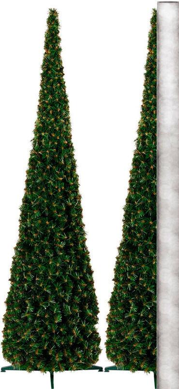 Елка и украшение GreenTerra Ель «Стожек пристенный» 2.1м - фото 1