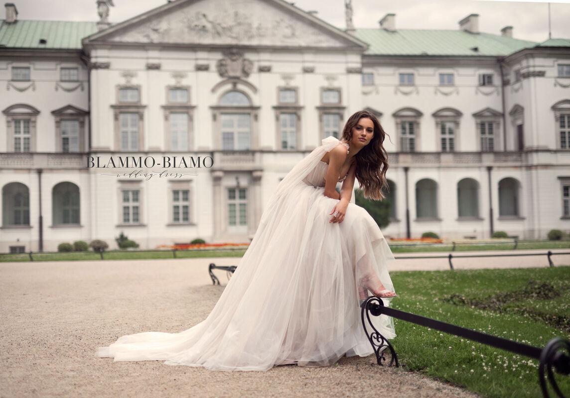 Свадебное платье напрокат Blammo-Biamo Платье свадебное The Rice Nora - фото 3