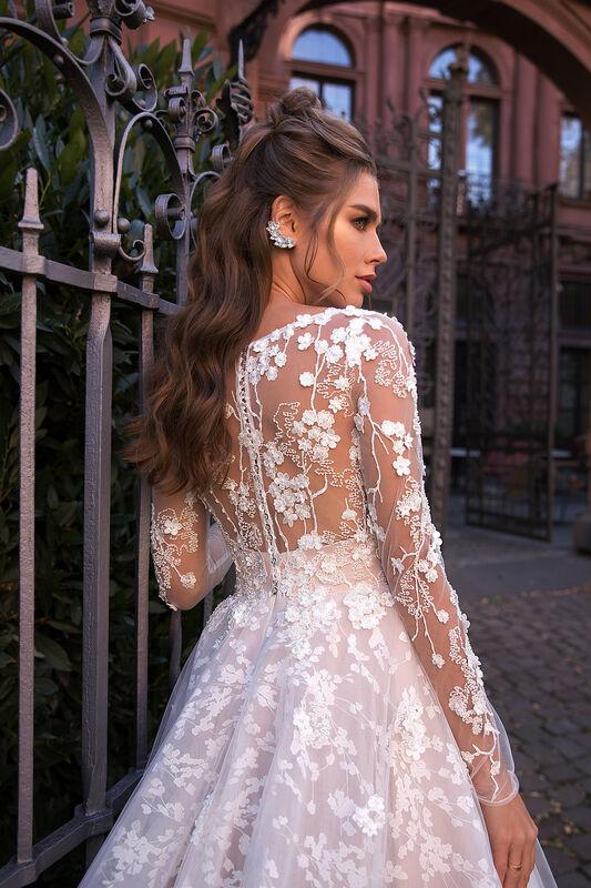 Свадебное платье напрокат Vanilla room Платье свадебное Ева - фото 1