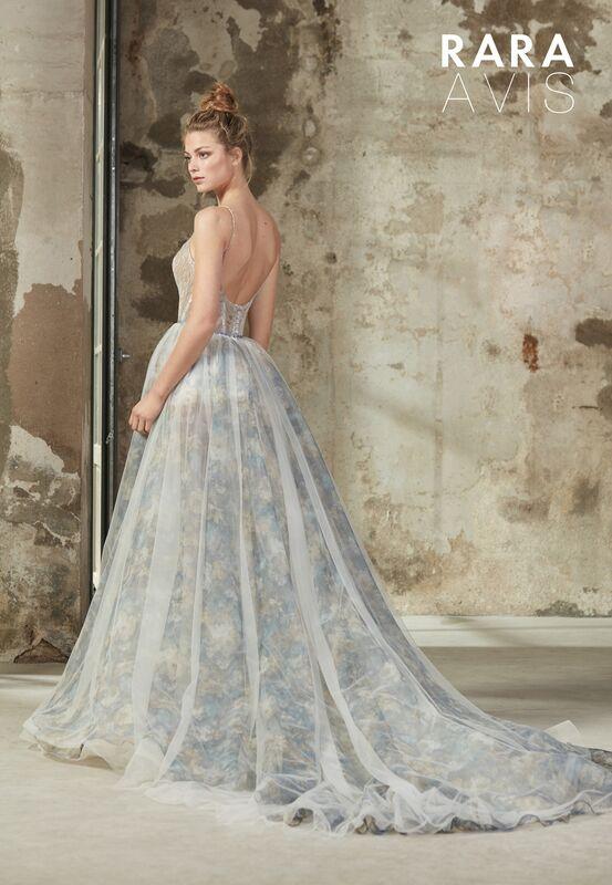 Свадебный салон Rara Avis Свадебное платье Floral Paradise  Beki - фото 2