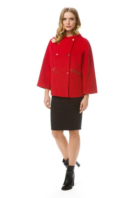 Верхняя одежда женская Elema Полупальто женское демисезонное Т-5661 - фото 1