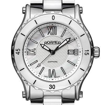 Часы Roamer Наручные часы Ceraline Pure 942980 41 23 90 - фото 1