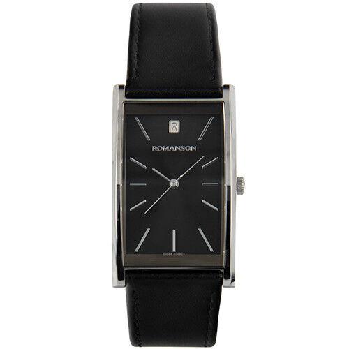 Часы Romanson Наручные часы DL2158CMWBK - фото 1