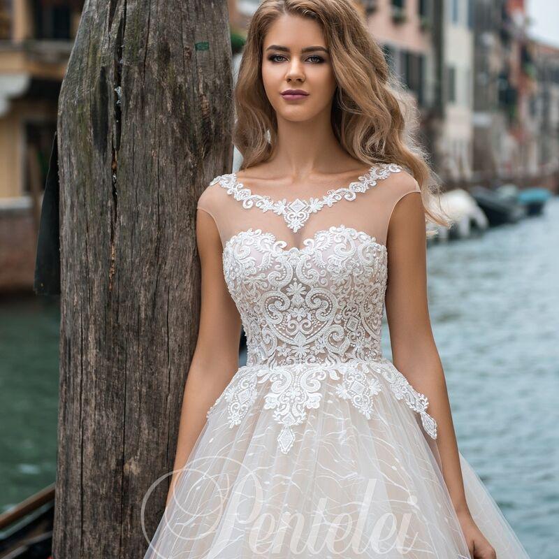 Свадебное платье напрокат Lavender Свадебное платье Ornella - фото 1