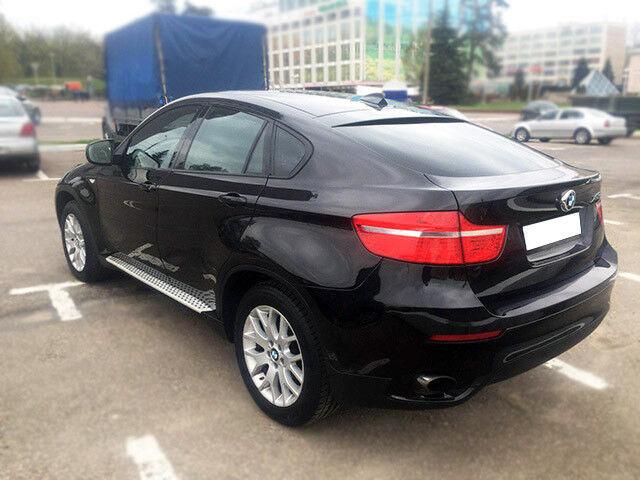 Прокат авто BMW X6 черный 3.5 л - фото 4