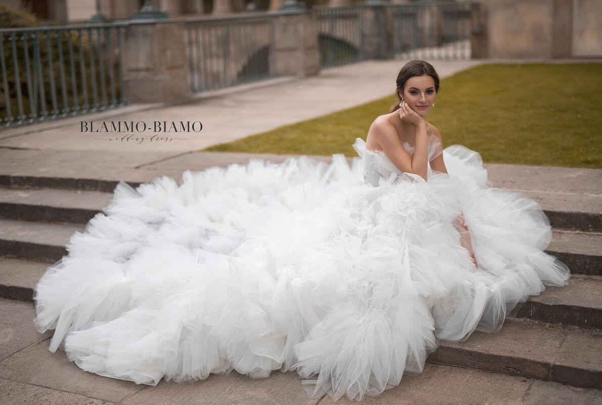 Свадебное платье напрокат Blammo-Biamo Платье свадебное The Rice Asta - фото 3