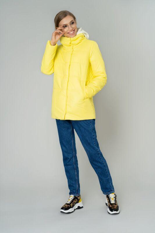 Верхняя одежда женская Elema Куртка женская плащевая утепленная 4-83641-1 - фото 1