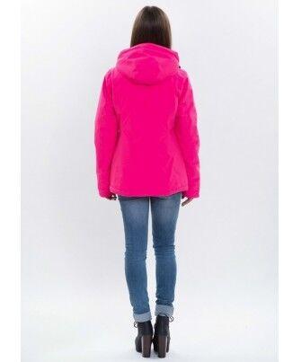 Спортивная одежда Free Flight Женская горнолыжная мембранная куртка розовая - фото 2