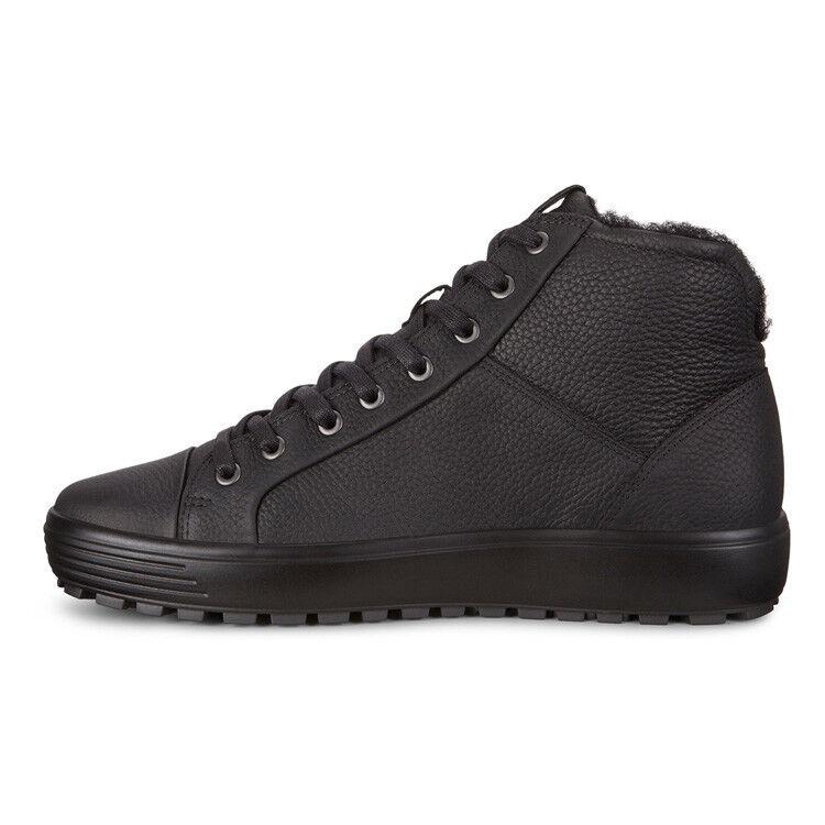 Обувь мужская ECCO Кеды высокие SOFT 7 TRED 450214/01001 - фото 2