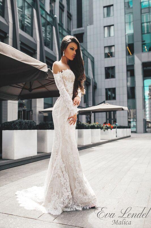 Свадебный салон Eva Lendel Платье свадебное Malica - фото 1