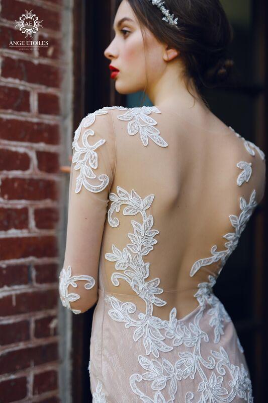 Свадебный салон Ange Etoiles Свадебное платье AEriality Collection  Alma - фото 3