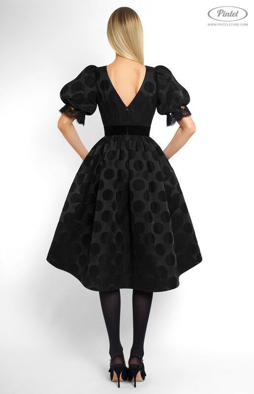 Платье женское Pintel™ Приталенное платье с широкой юбкой Emerissa - фото 3