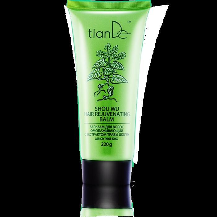 Уход за волосами tianDe Бальзам для волос омолаживающий с экстрактом травы шоу ву - фото 1