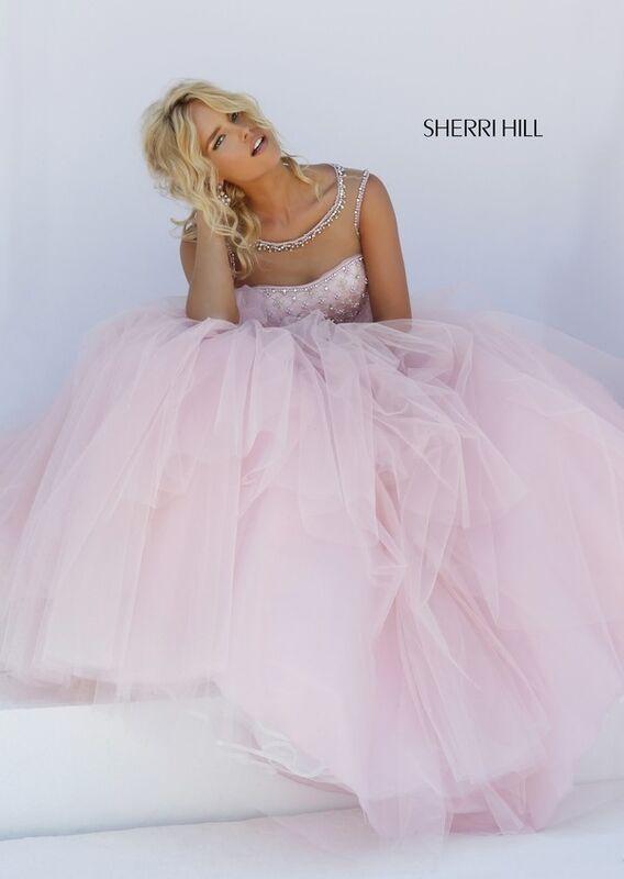 Свадебное платье напрокат Sherri Hill Платье свадебное 50008 - фото 1