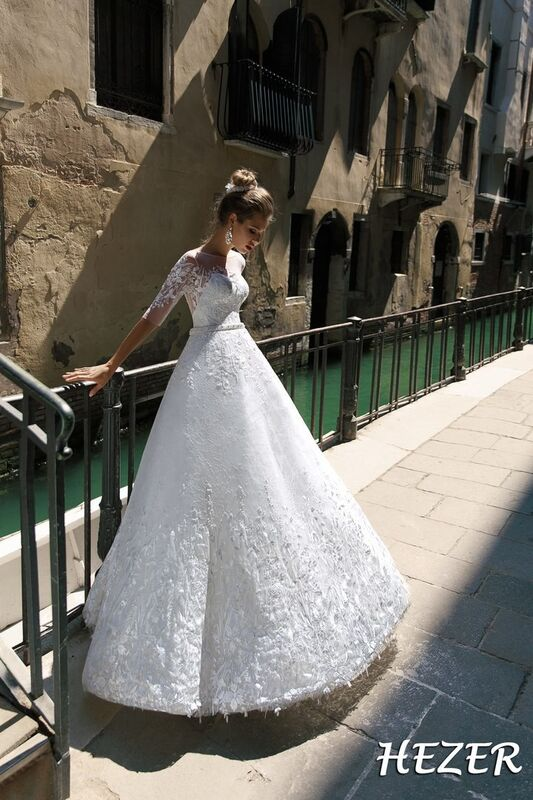 Свадебный салон Bonjour Galerie Свадебное платье Hezer из коллекции La Douceur - фото 4