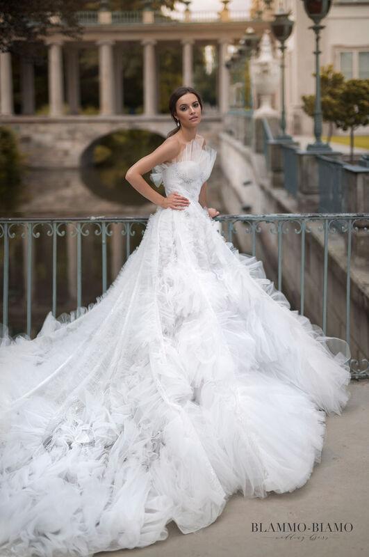 Свадебное платье напрокат Blammo-Biamo Платье свадебное The Rice Asta - фото 2