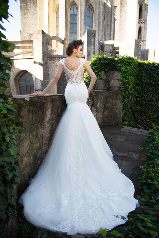 Свадебный салон Bonjour Galerie Свадебное платье «Klassa» из коллекции LA SENSUALITE - фото 2