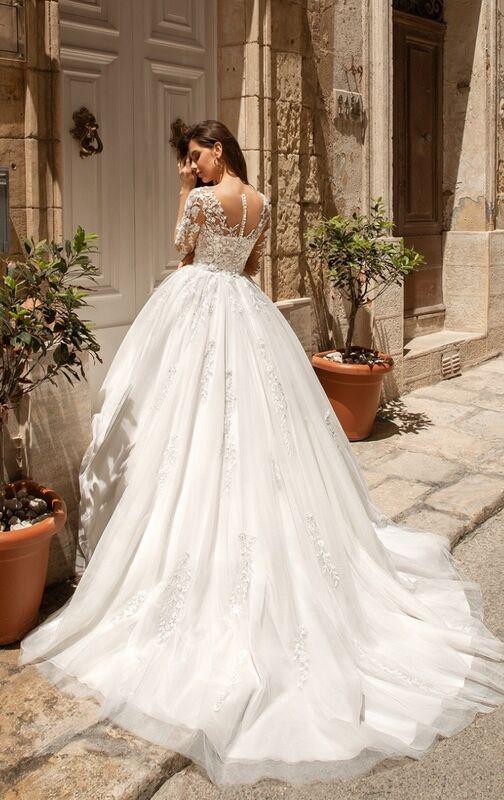 Свадебный салон Vanilla room Свадебное платье Менди - фото 2