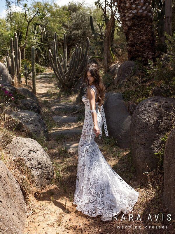 Свадебный салон Rara Avis Свадебное платье Koli Wild Soul - фото 3