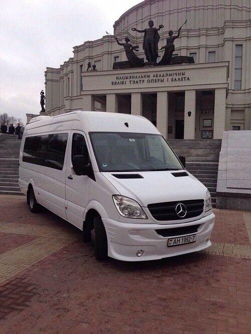 Аренда авто Mercedes-Benz Sprinter белого цвета - фото 2