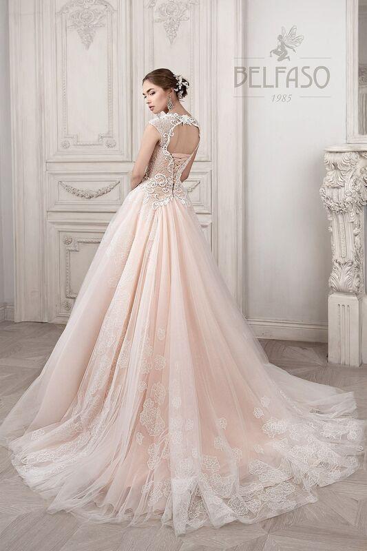 Свадебное платье напрокат Belfaso Платье свадебное Imodjin - фото 3