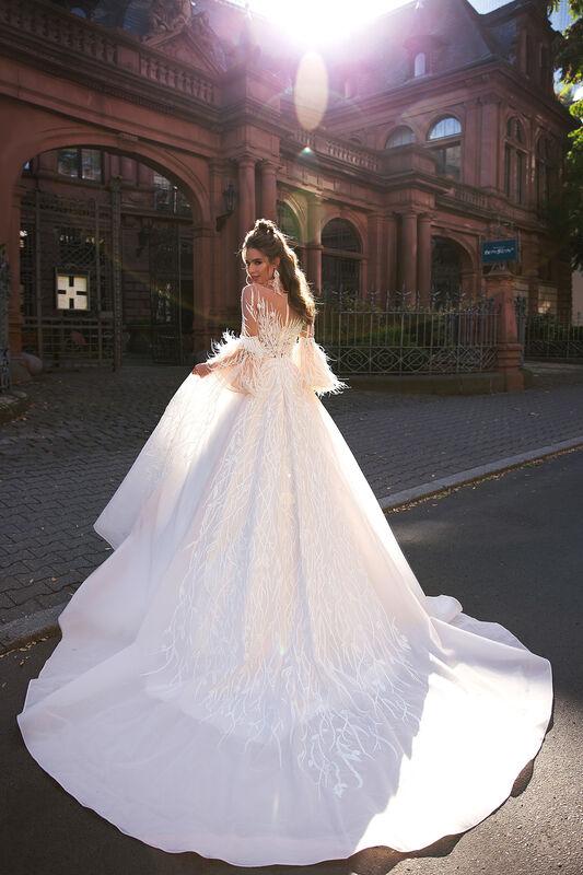 Свадебный салон Vanilla room Свадебное платье Абигайль - фото 5