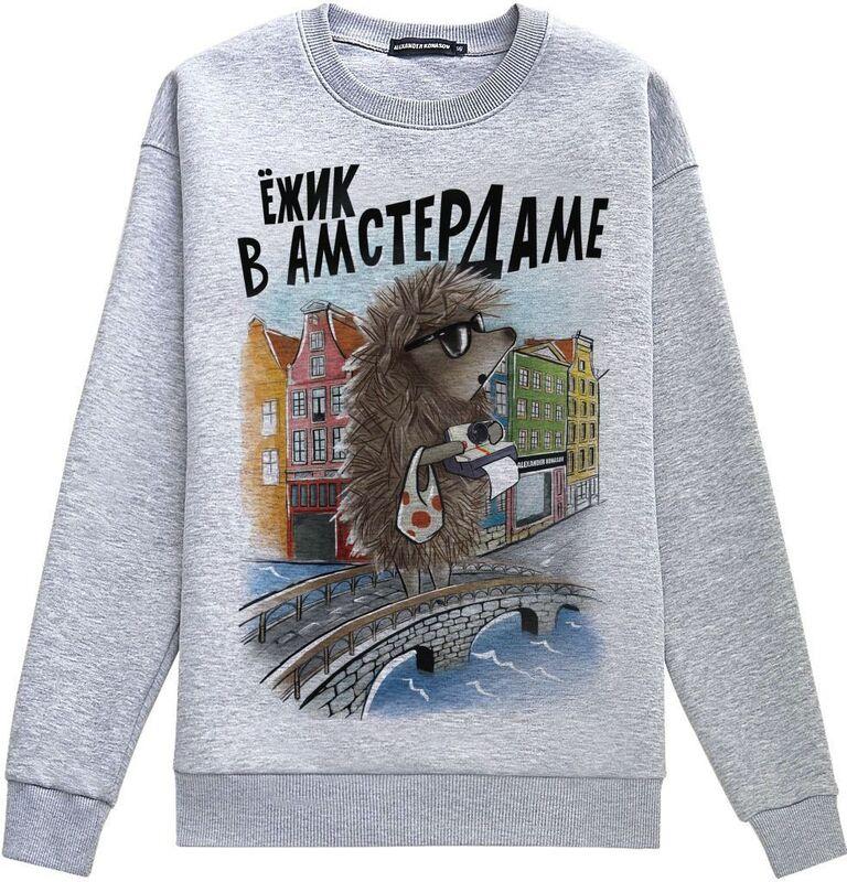 Кофта, рубашка, футболка мужская ALEXANDER KONASOV Толстовка мужская 2 - фото 1