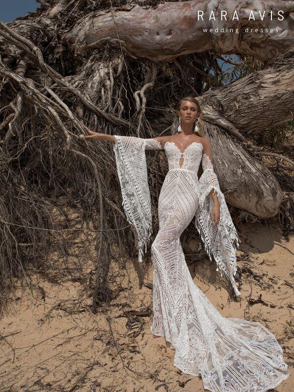 Свадебное платье напрокат Rara Avis Свадебное платье Wild Soul Lari - фото 3